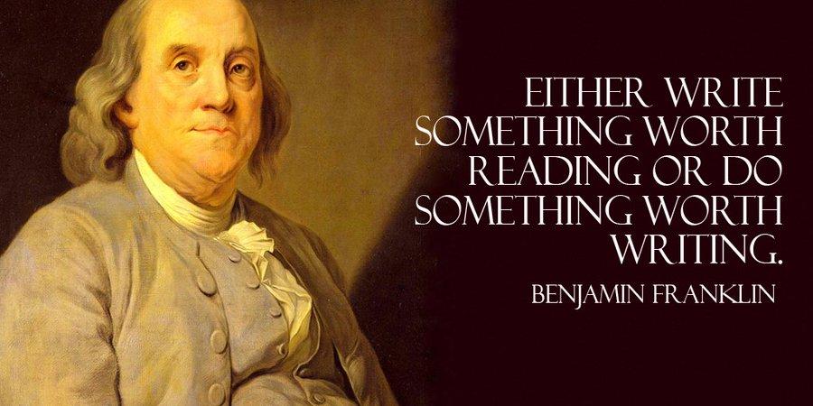 benjamin franklin quotes teach me