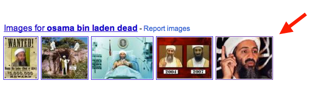 google universal results