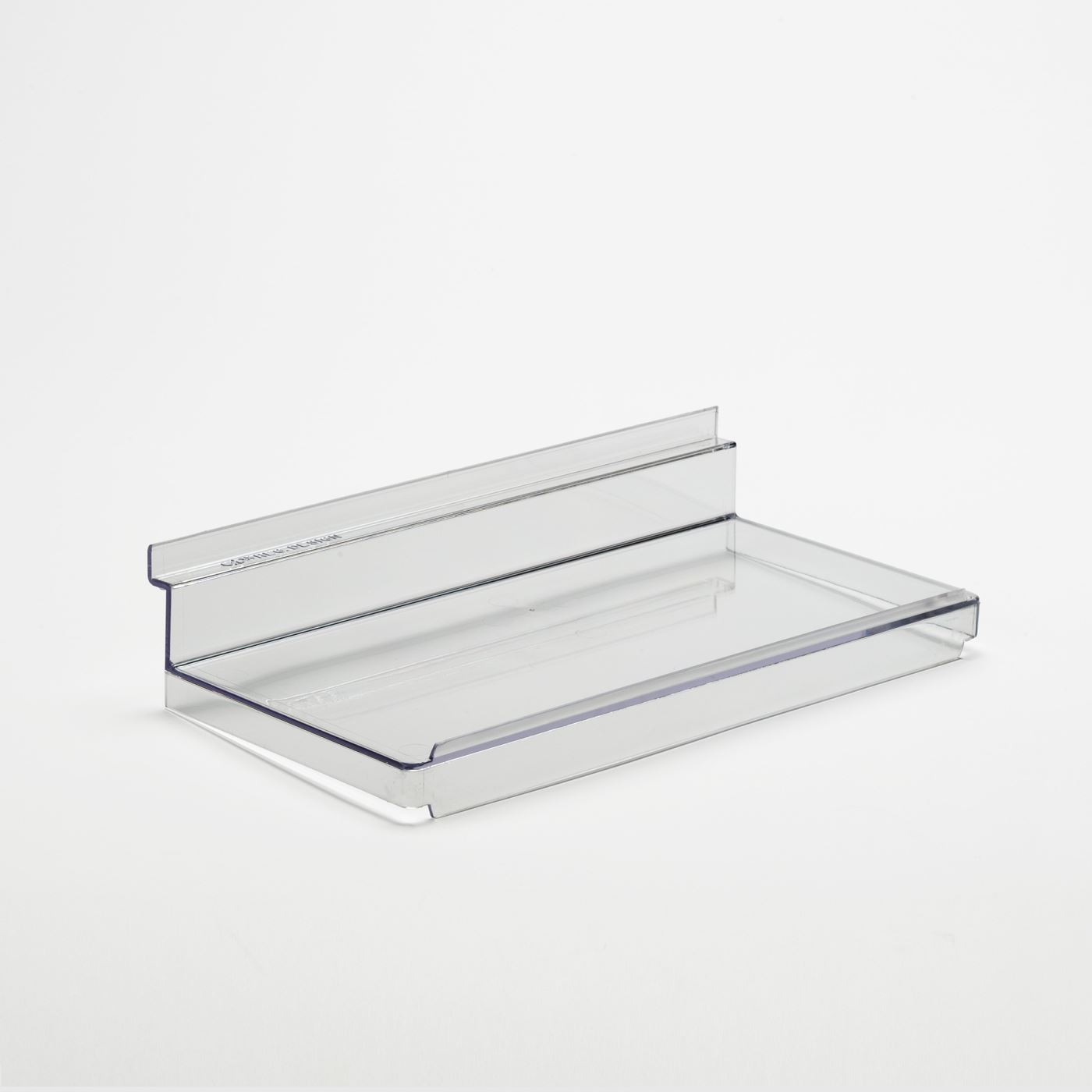 Details About Slat Flat Shelf With Lip Slatwall Fix Acrylics Perspex Shelves 250mm Ow1100