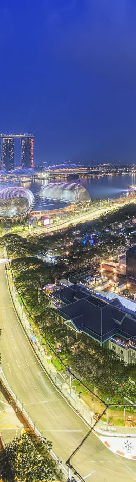Singapore pioneered the first F1 night race