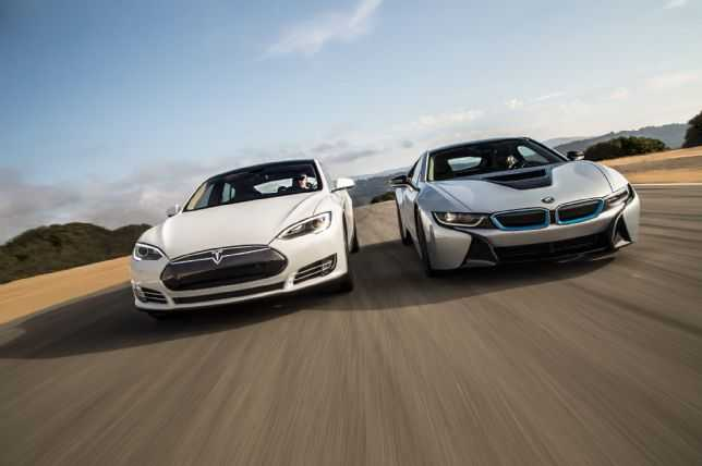 Tesla Races Ahead of BMW, Audi and Mercedes in Luxury Electric Car Segment