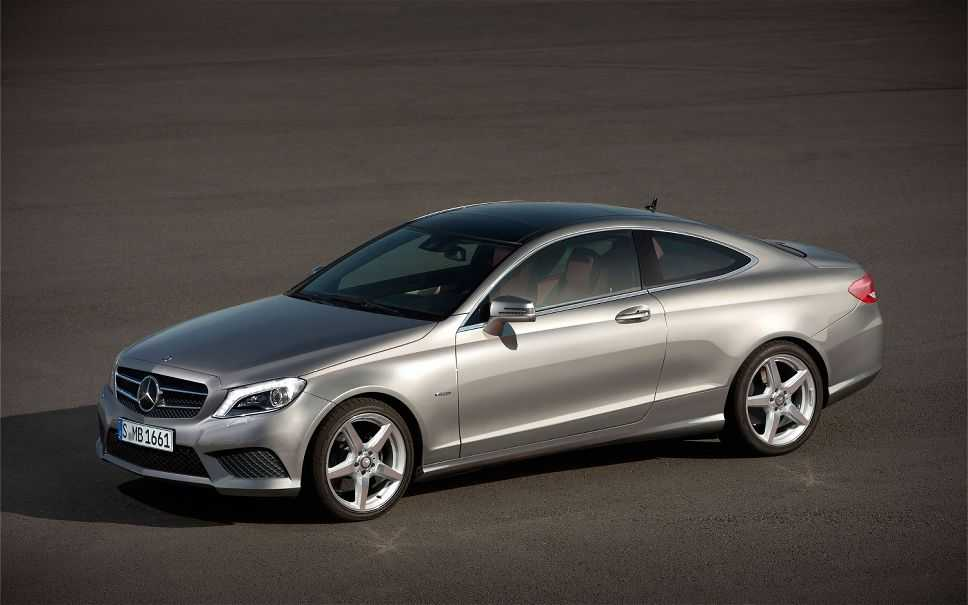 Mercedes-Benz C-Class Coupe is All Set to Beat the BMW 4 Series this Year