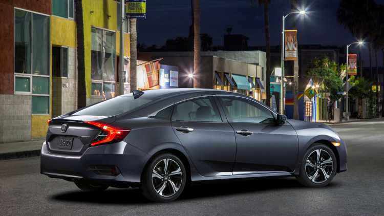 2016 Honda Civic – Five New Colors Available for the Exterior