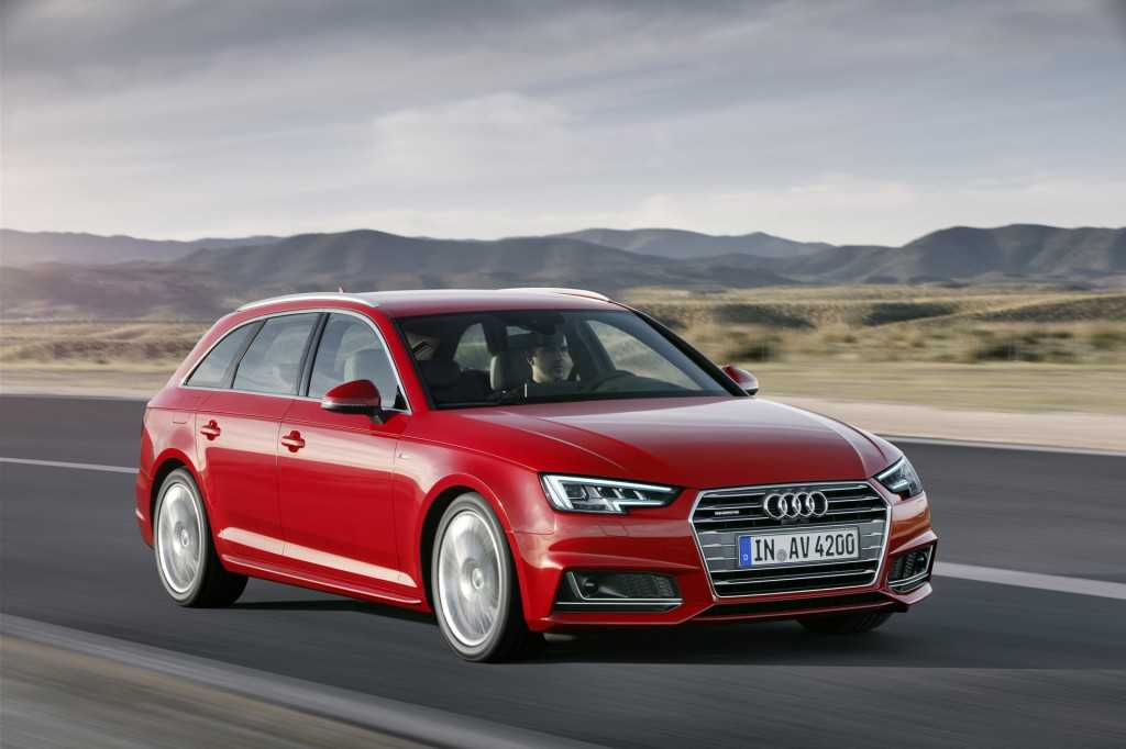 2017 Audi A4 Sedan Retains the Classic Design, Sports New Technology Upgrades
