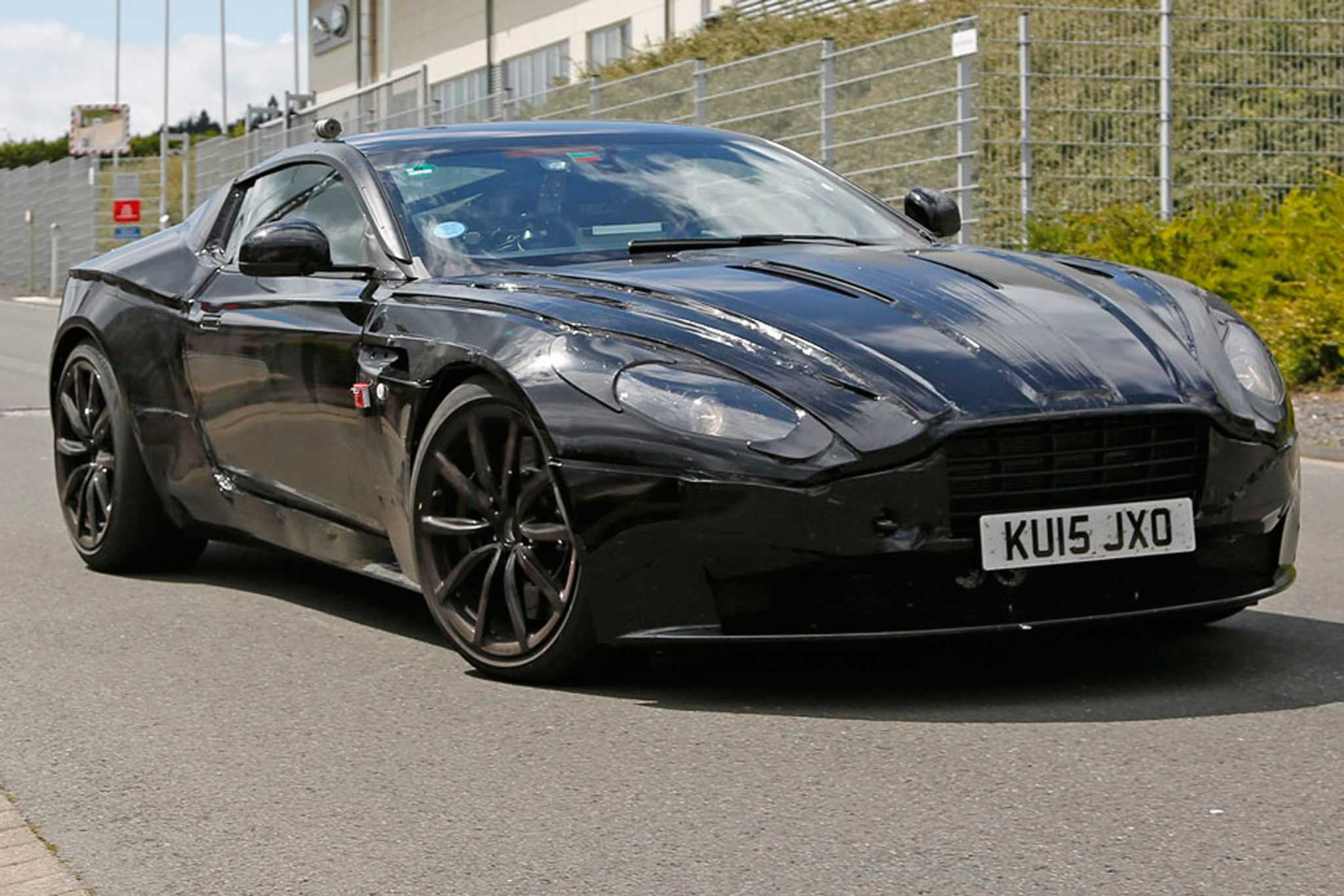 Aston Martin DB11 Set to Succeed DB9: The First in an Entire New Range of Upcoming Astons