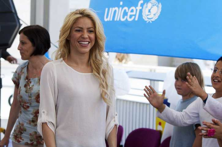 UNICEF Goodwill Ambassador Shakira Bats for Early Childhood Development: Urges World Leaders to Join