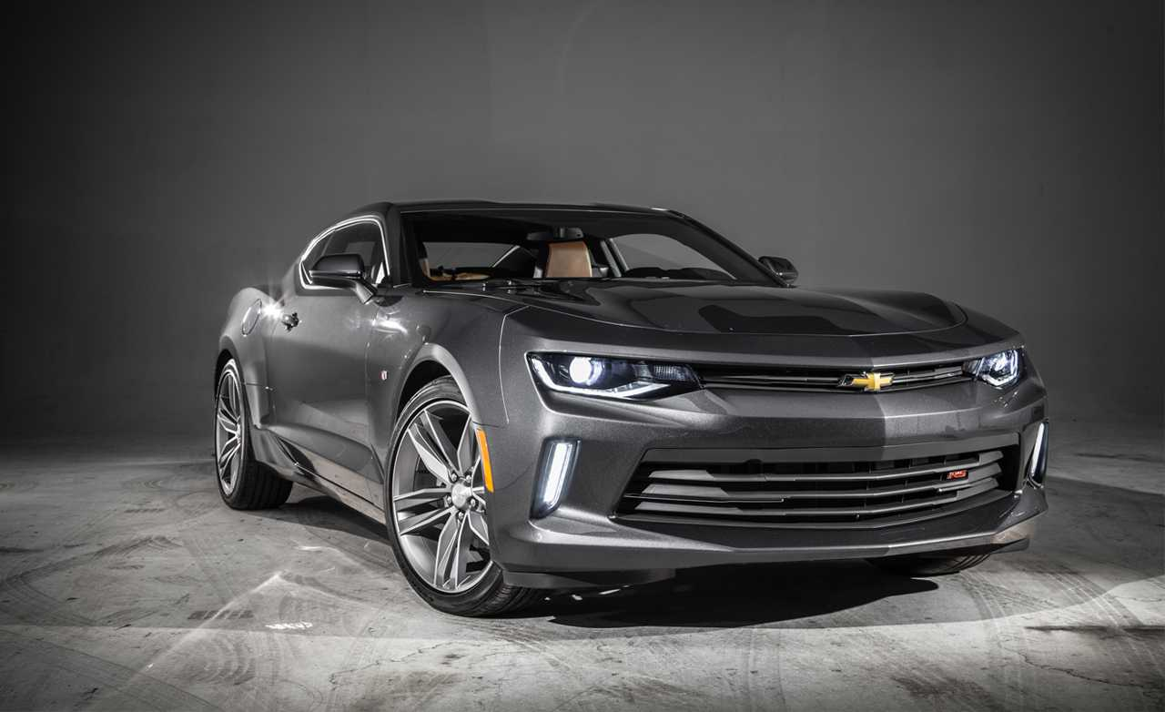2016 Chevrolet Camaro Receives a Bunch of Accessories and Performance Kits