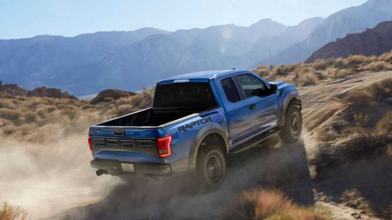 2017 Ford F-150 Raptor Seen Totally Naked Showing Four Doors