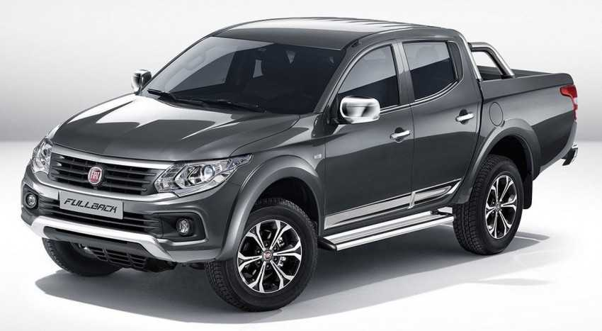Fiat Fullback is a New Pickup Truck Launched at 2015 Dubai Motor Show
