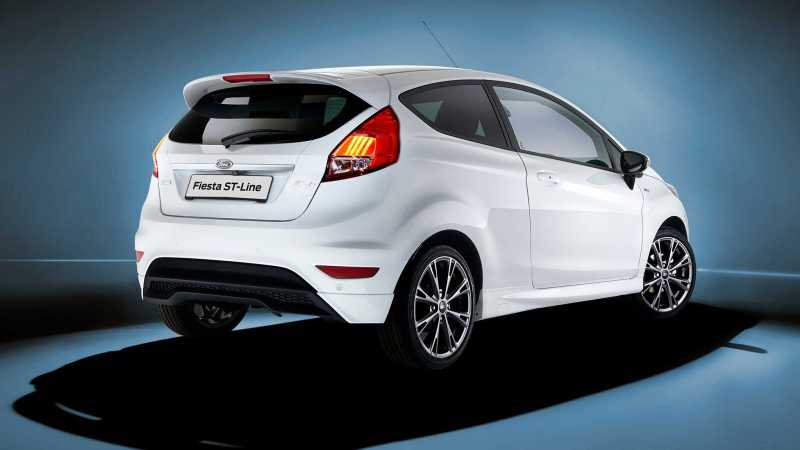 Ford Fiesta ST Line rear
