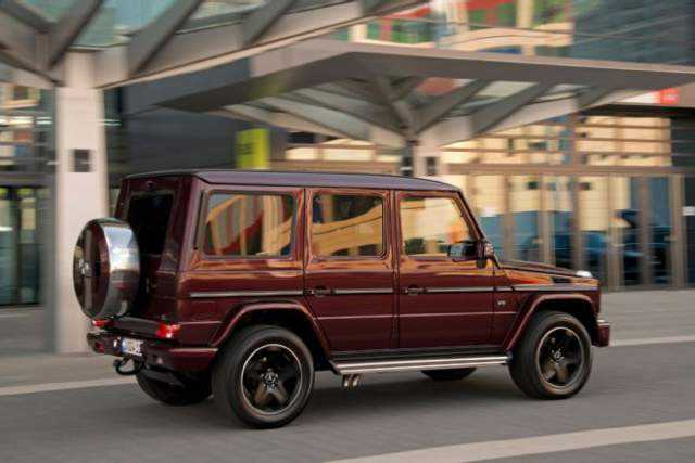 2017 Mercedes-Benz G550 4×4 Confirmed for Launch in the United States