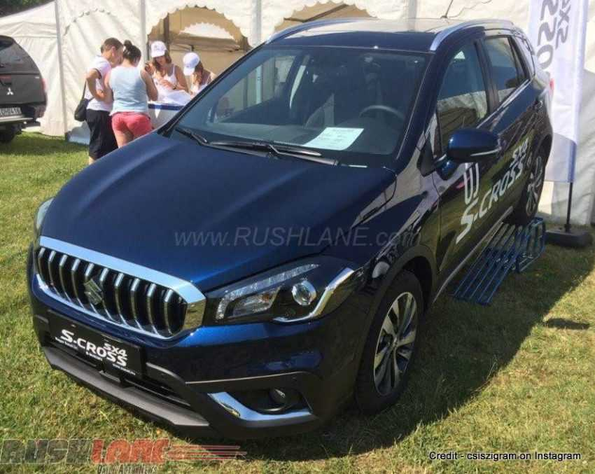 Suzuki S-Cross Facelift Makes Its First Appearance At Hungary