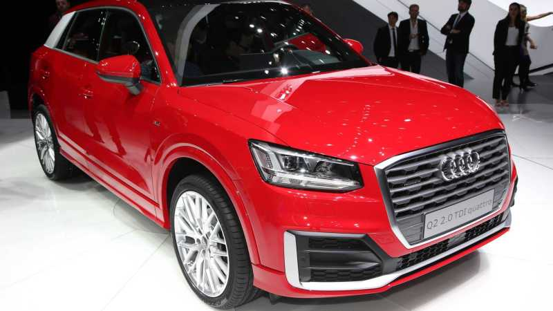 Audi Q2 front