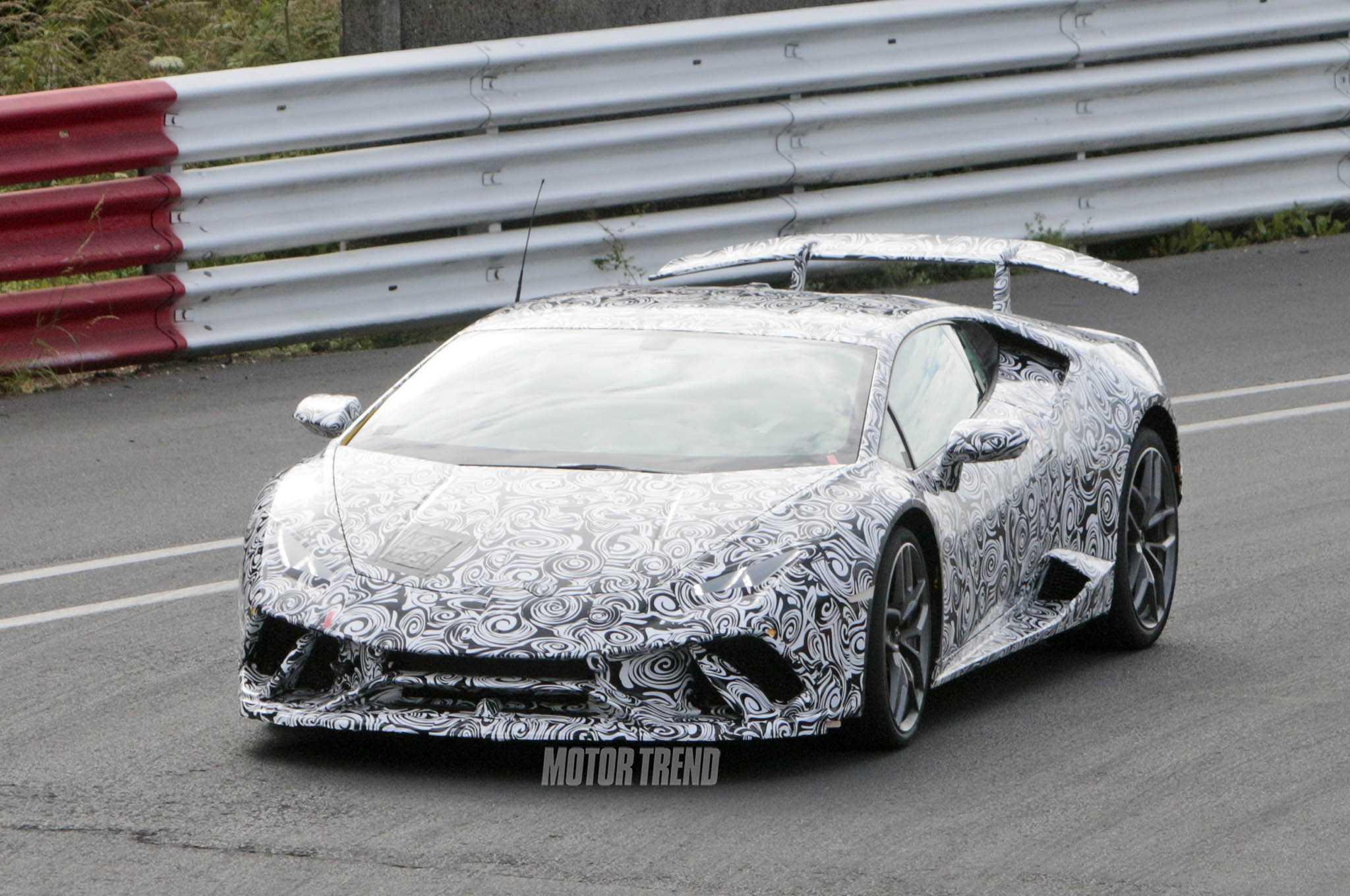 Lamborghini Huracan Superleggera Spied Testing In The Ring