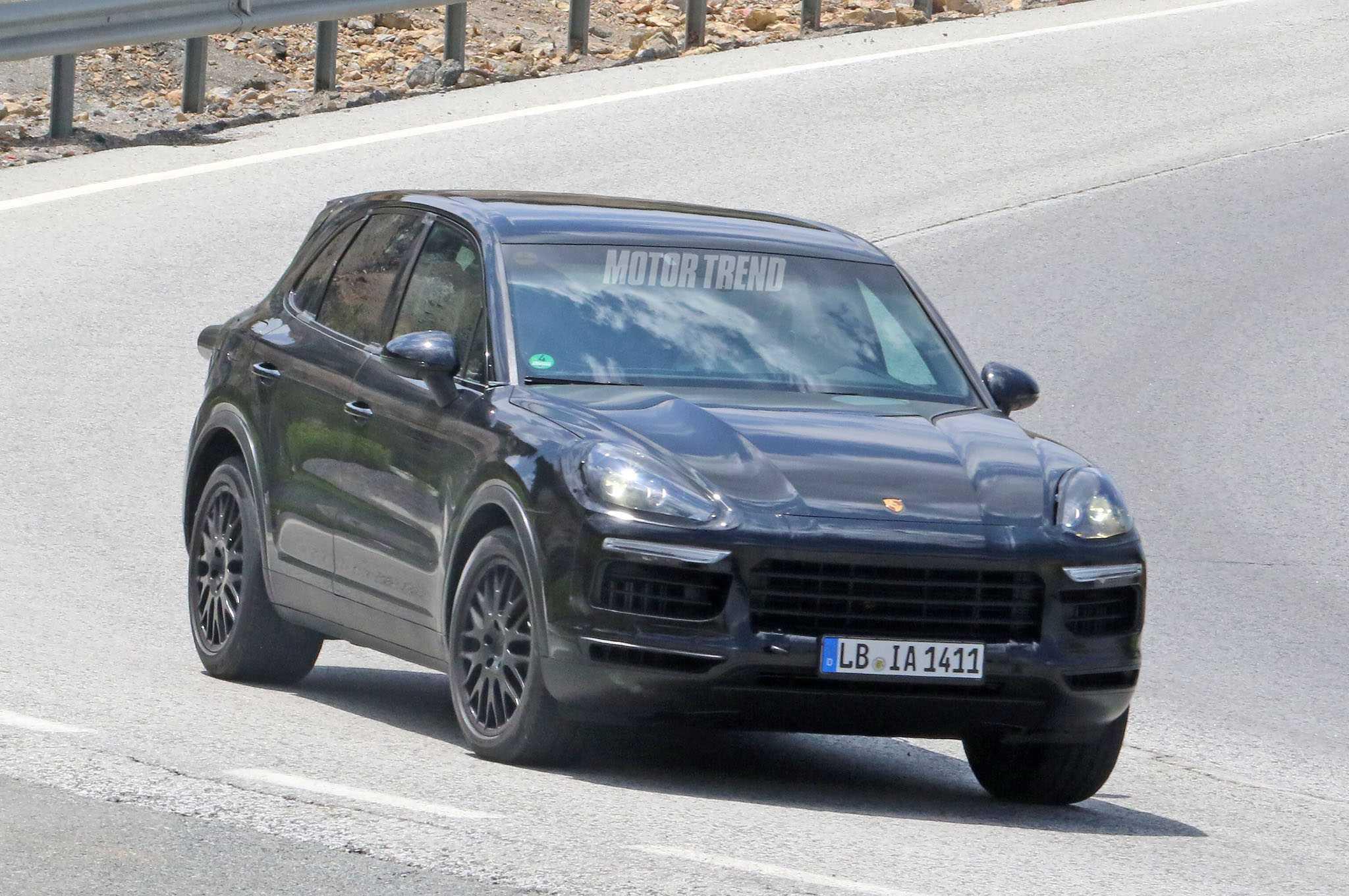 Next Gen Porsche Cayenne Spotted Testing In Spain
