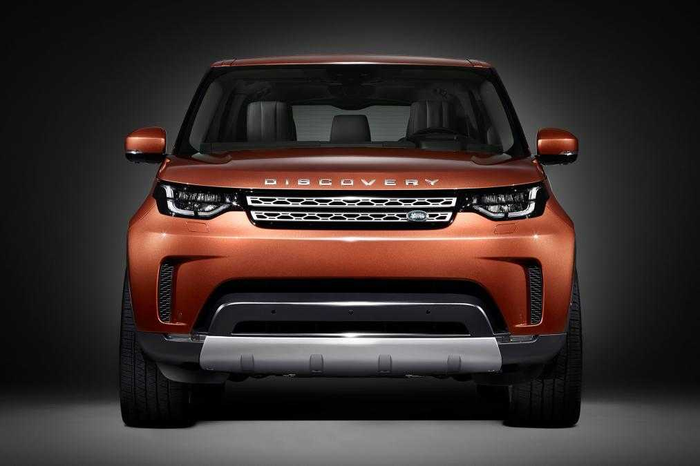 2017 Land Rover Discovery First Look Images Are Out