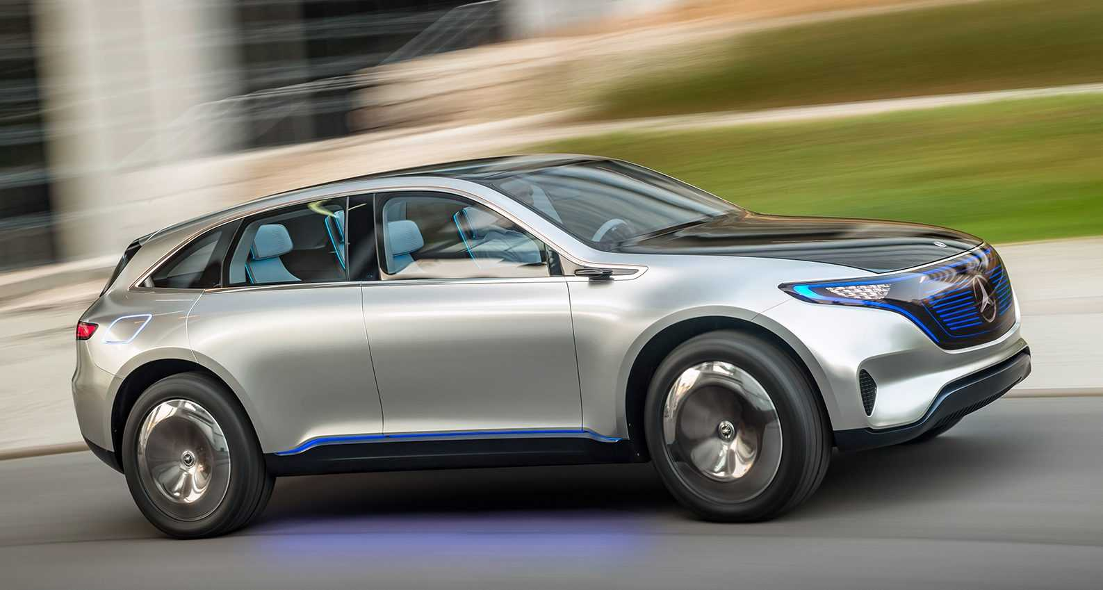 Mercedes Benz Launches Dedicated Brand to Manufacture Electric Cars