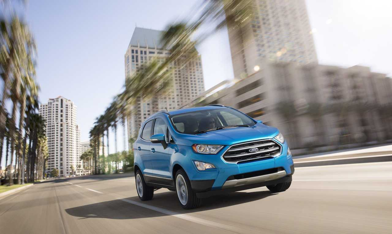 The Next-Gen Ford EcoSport is Slated for a 2018 Release in the US