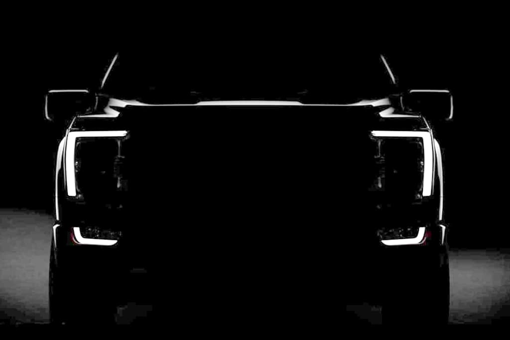 2021 Ford F-150 Pick-Up Design Teased in Leaked Road Test Images