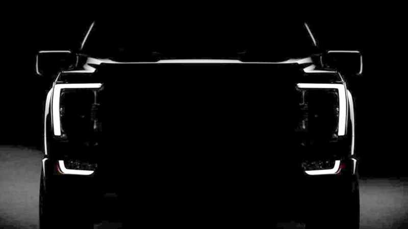 2021 Ford F-150 Pick-Up Design Teased in Leaked Road Test Images