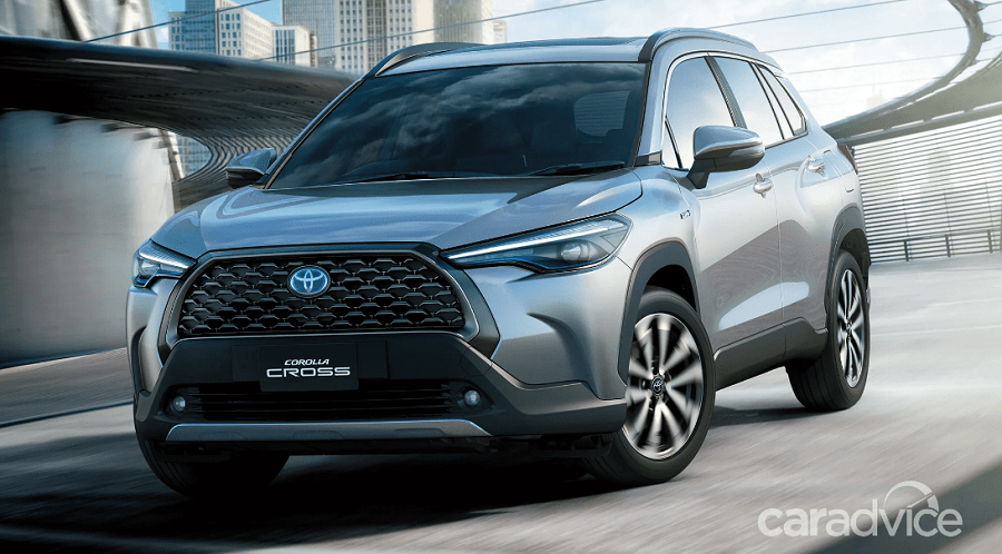 Toyota Corolla Cross SUV Adds a Large Car to the Lineup, Set for 2022 Launch