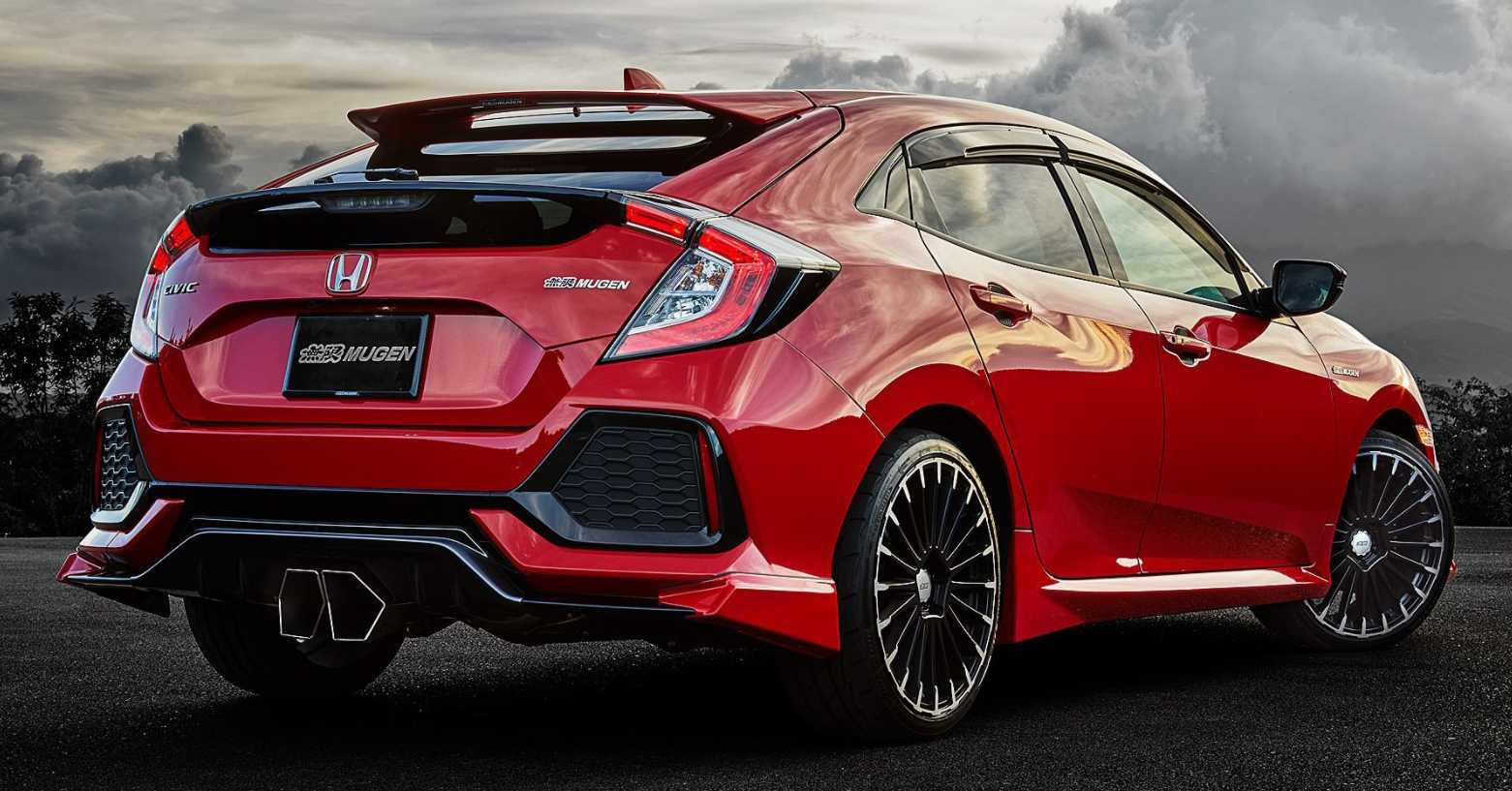 2020 Honda Civic Now Gets Support for Mugen Accessories