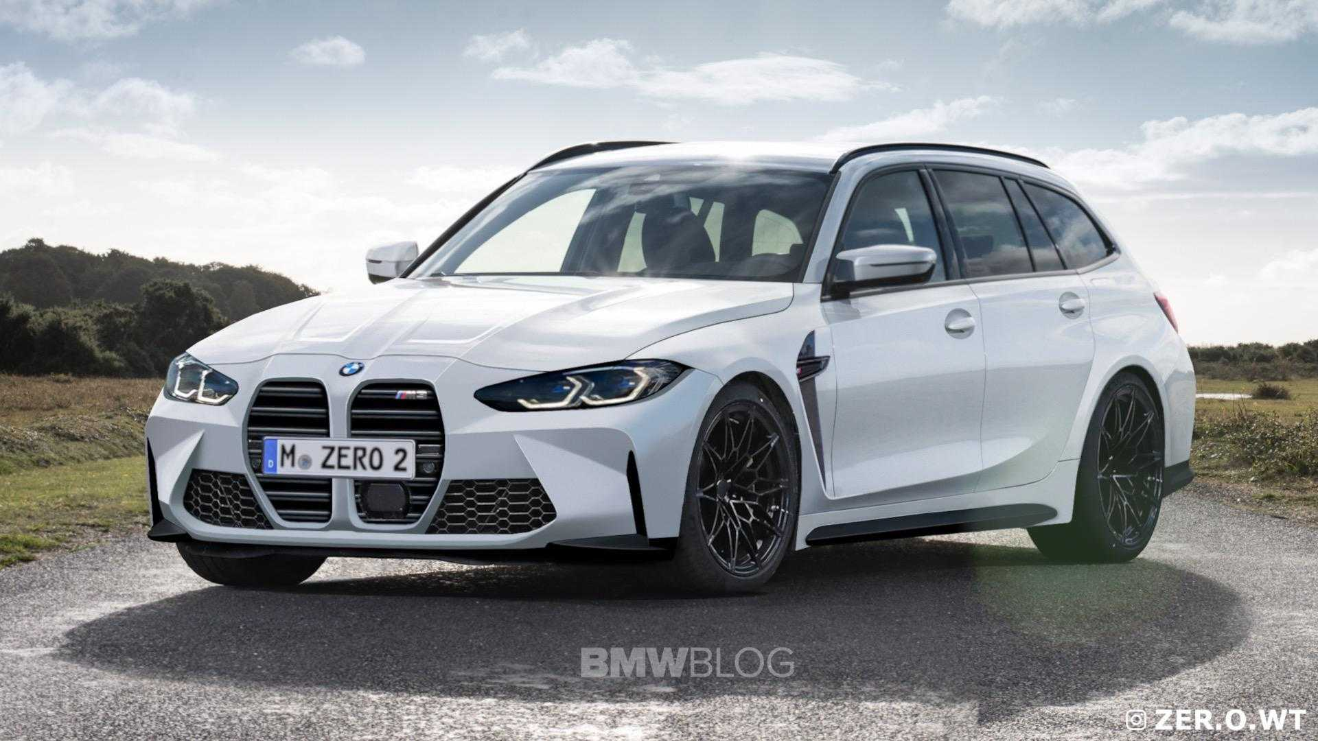 BMW M3 Touring Initial Rendered Image Revealed