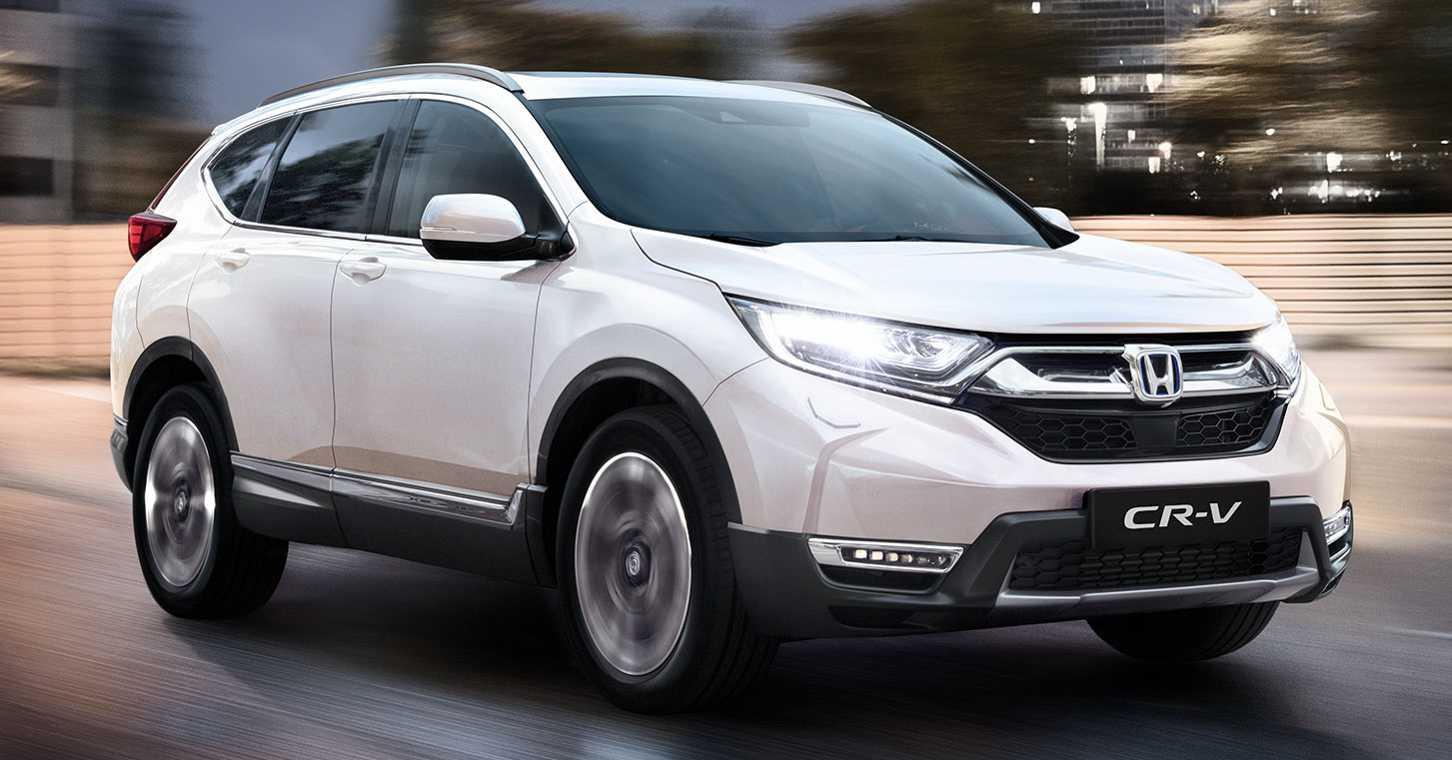 2021 Honda CR-V Hybrid Gets New Kit, Visual Improvements