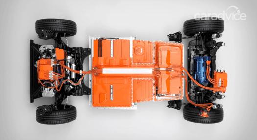 2021 Volvo EV Electic motor mount
