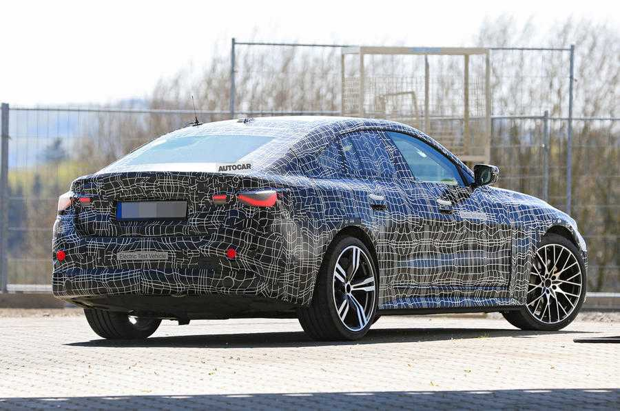 BMW M series electric car