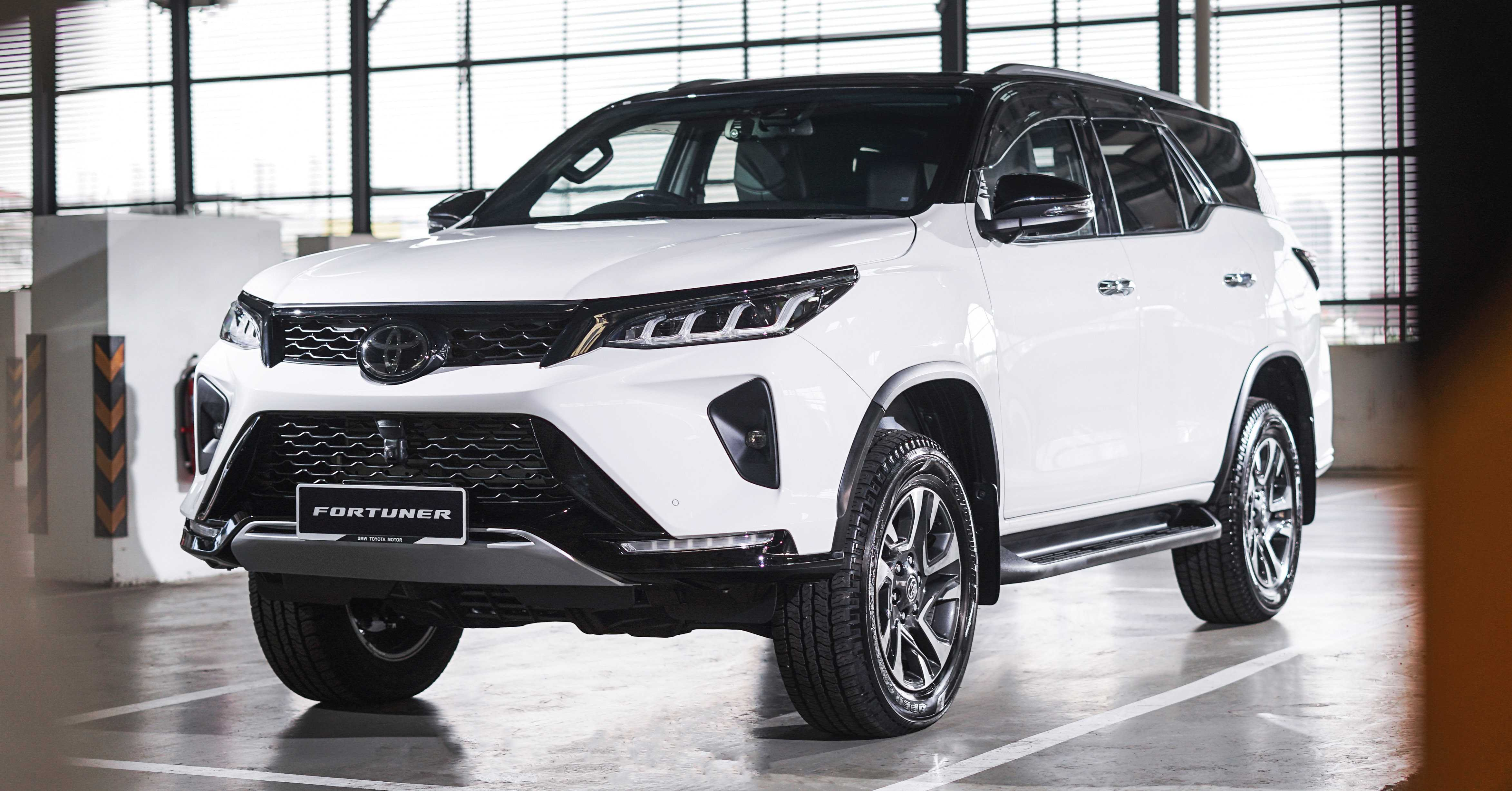 2021 Toyota Fortuner Gets Three New Variants, Facelifted Edition Unveiled