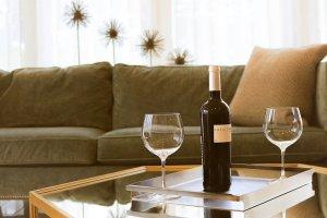 furniture indoors sofa