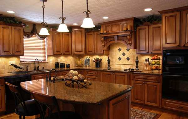 traditional style remodeled kitchen