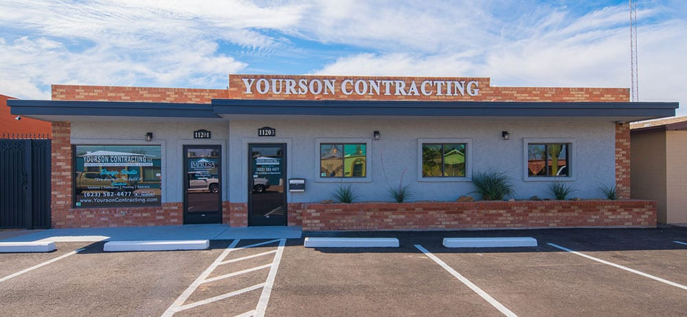 Yourson Contracting Front of Building