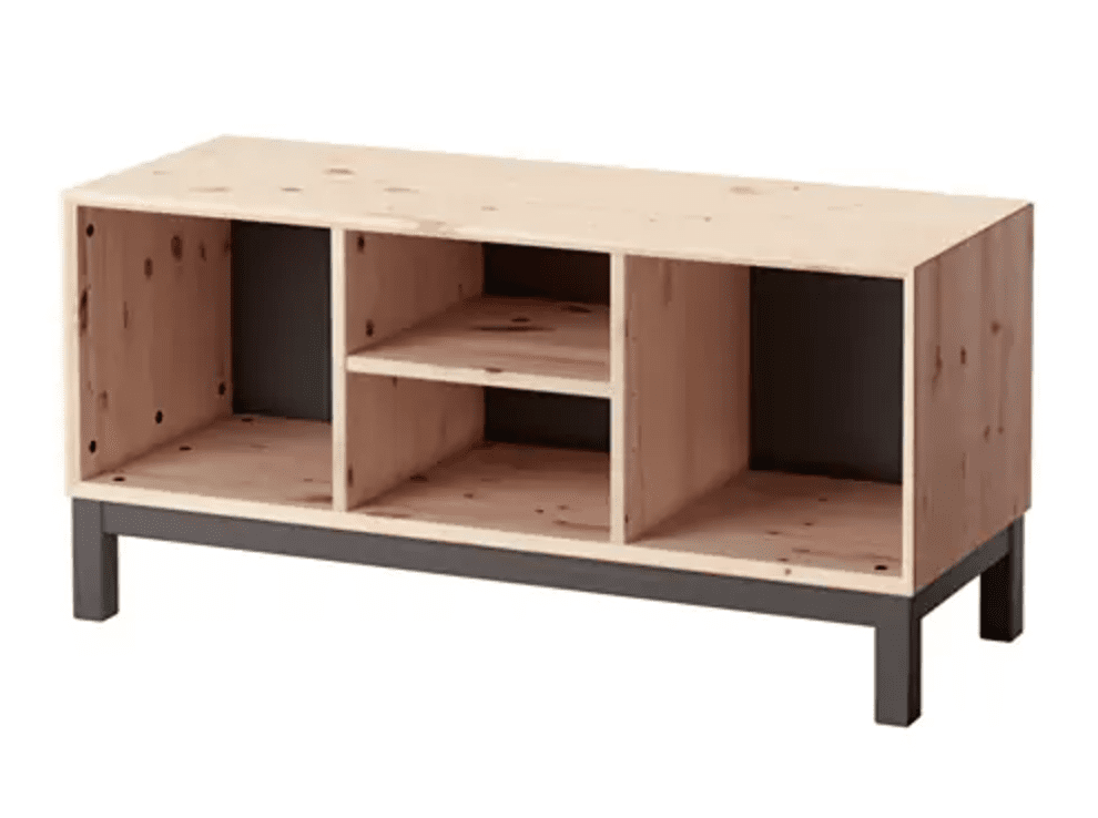 The NORNÄS Range Are My Personal Favorite Vinyl Storage Solutions From Ikea  As Theyu0027re A Solid Pine Construction Which Adds Immediate Character And ...