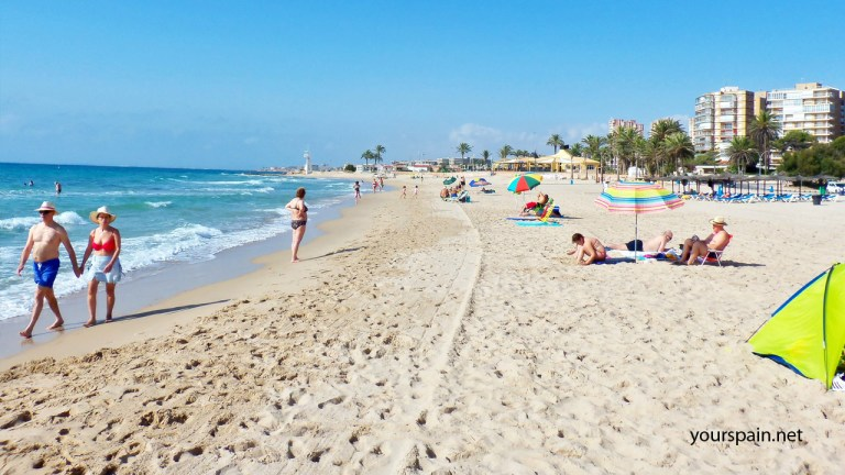 Orihuela Costa Beach