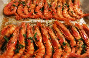 Culinary specialty's seafood