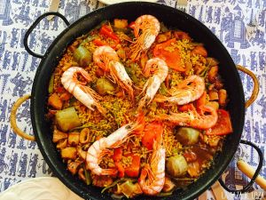 Culinary specialty's Paella