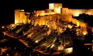 Almeria city Alcazaba