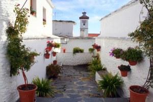 Alpujarras white village