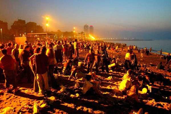 Bonfires of San Juan