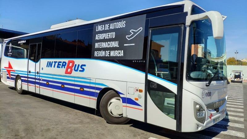 Corvera airport bus