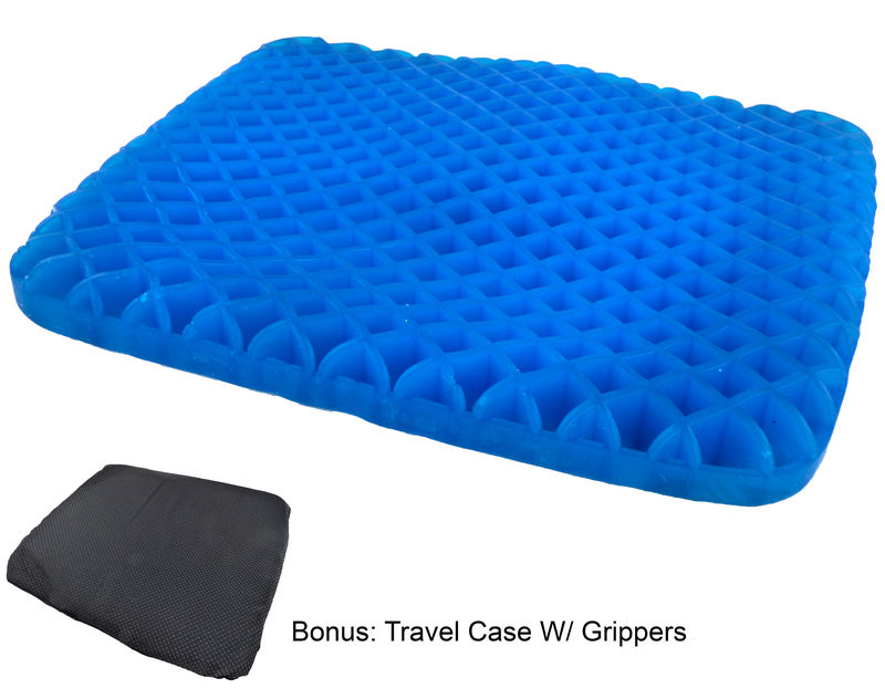 Egg Wonder Honeycomb Cooling Gel Support Seat Cushion with