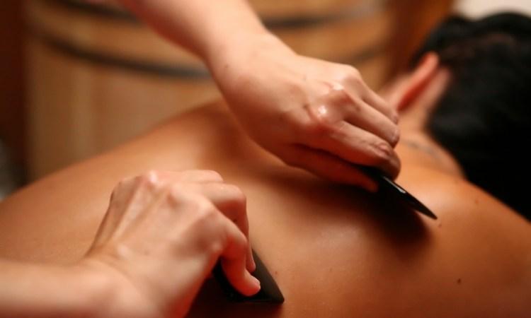 Акция массаж Гуаша все тело киев скидки