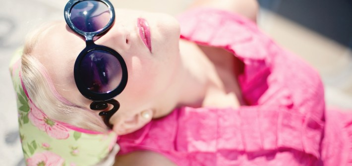occhiali da sole Prada minimal Baroque