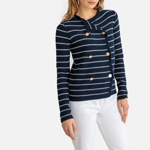 light cardi with buttons 12,25 Euros (it was 49 Euros), on La Redoute Fr online
