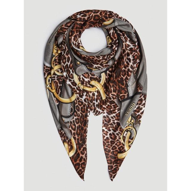 animalier print foulard by Guess, 45 Euros on La Redoute Fr