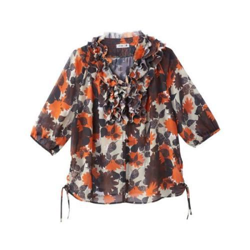 floral print blouse 15,75 Euros (it was 34,99 Euros), on La Redoute Fr website