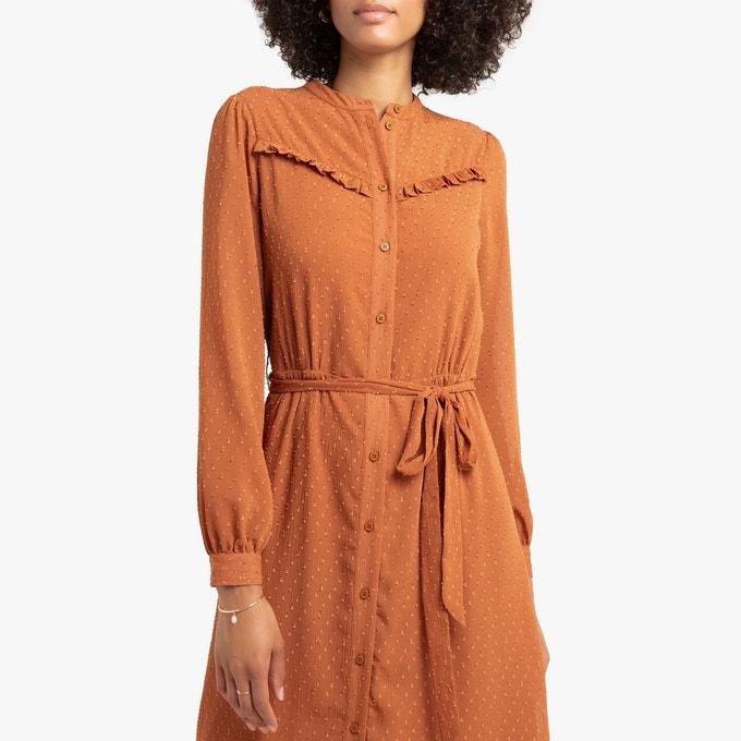 embroidered muslim shirt dress 49,99 Euros, La Redoute Fr website