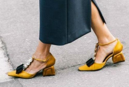sandali in tessuto con tacco ricoperto